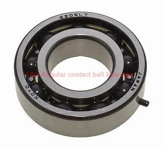 5 mm x 14 mm x 7 mm  FAG 30/5-B-TVH Rolamentos de esferas de contacto angular