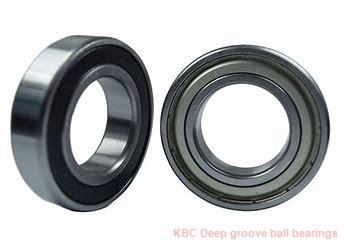 25 mm x 63 mm x 18 mm  KBC B2563DD Rolamentos de esferas profundas