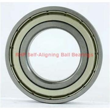 85,725 mm x 190,5 mm x 39,6875 mm  RHP NMJ3.3/8 Rolamentos de esferas auto-alinhados