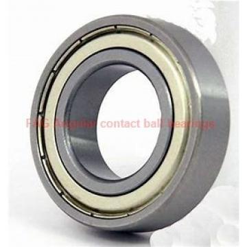 37 mm x 74 mm x 45 mm  FAG SA1020 Rolamentos de esferas de contacto angular