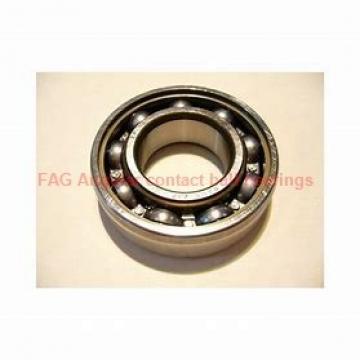 17 mm x 40 mm x 12 mm  FAG B7203-C-T-P4S Rolamentos de esferas de contacto angular