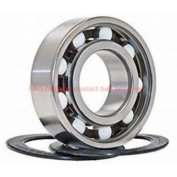 60 mm x 95 mm x 18 mm  FAG B7012-E-2RSD-T-P4S Rolamentos de esferas de contacto angular