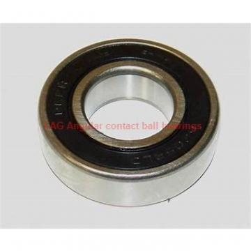 17 mm x 40 mm x 12 mm  FAG 7203-B-2RS-TVP Rolamentos de esferas de contacto angular