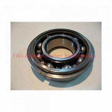45 mm x 58 mm x 10 mm  FAG 3809-B-TVH Rolamentos de esferas de contacto angular