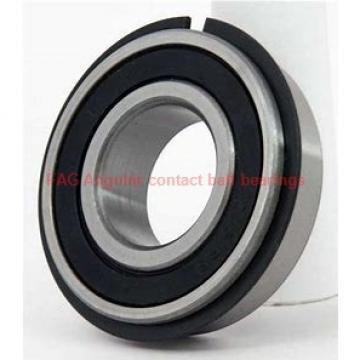 55 mm x 100 mm x 21 mm  FAG B7211-E-T-P4S Rolamentos de esferas de contacto angular