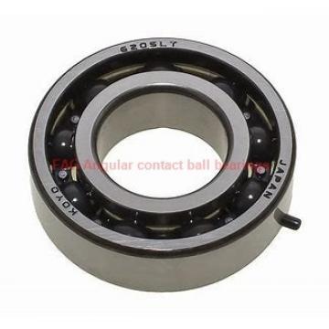 45 mm x 58 mm x 7 mm  FAG 71809-B-TVH Rolamentos de esferas de contacto angular