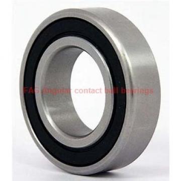 35 mm x 80 mm x 21 mm  FAG 7307-B-2RS-TVP Rolamentos de esferas de contacto angular
