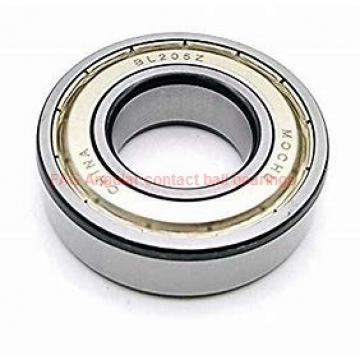 49 mm x 88 mm x 46 mm  FAG SA0083 Rolamentos de esferas de contacto angular