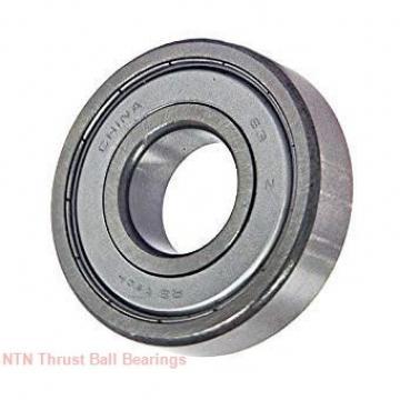 30,000 mm x 52,000 mm x 4.25 mm  NTN 81206 Rolamentos de esferas de impulso