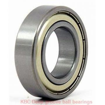 35 mm x 72 mm x 17 mm  KBC 6207UU Rolamentos de esferas profundas