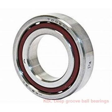 40 mm x 80 mm x 16 mm  KBC F-566681 Rolamentos de esferas profundas