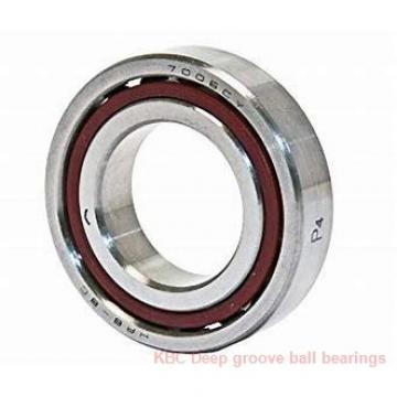 75 mm x 115 mm x 20 mm  KBC 6015DD Rolamentos de esferas profundas