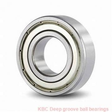 75 mm x 115 mm x 20 mm  KBC 6015 Rolamentos de esferas profundas
