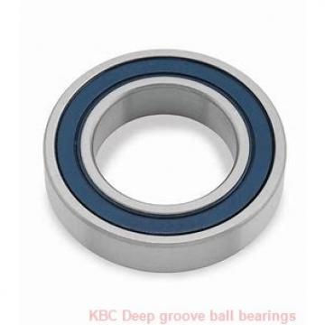 85 mm x 130 mm x 22 mm  KBC 6017ZZ Rolamentos de esferas profundas