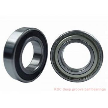 80 mm x 125 mm x 22 mm  KBC 6016DD Rolamentos de esferas profundas