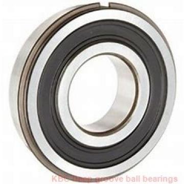 40 mm x 80 mm x 18 mm  KBC 6208DD Rolamentos de esferas profundas